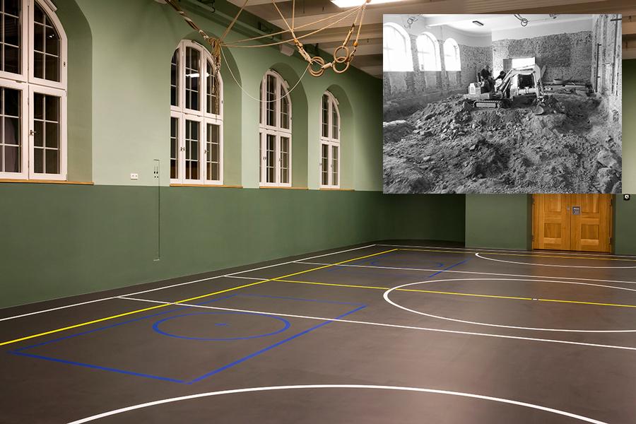 Altstadtschule Passau Hochwassersanierung 1